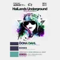 Live at HaiLands Underground – 2015-08-07